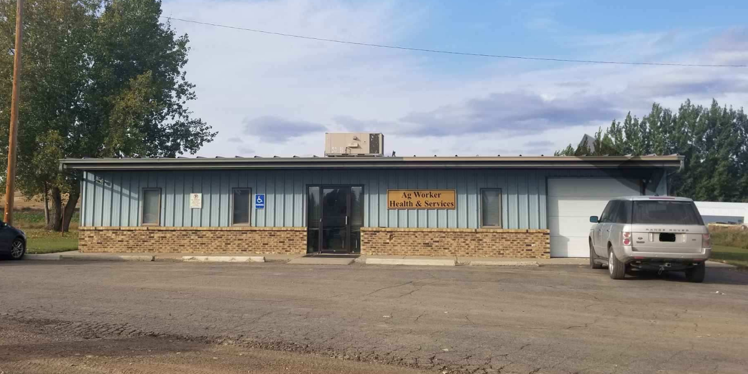 Front view of Fairview clinic