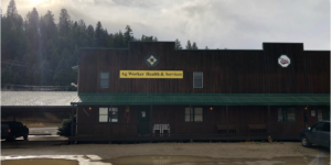 front view of the Ag Worker Health & Services clinic in Lolo, Montana