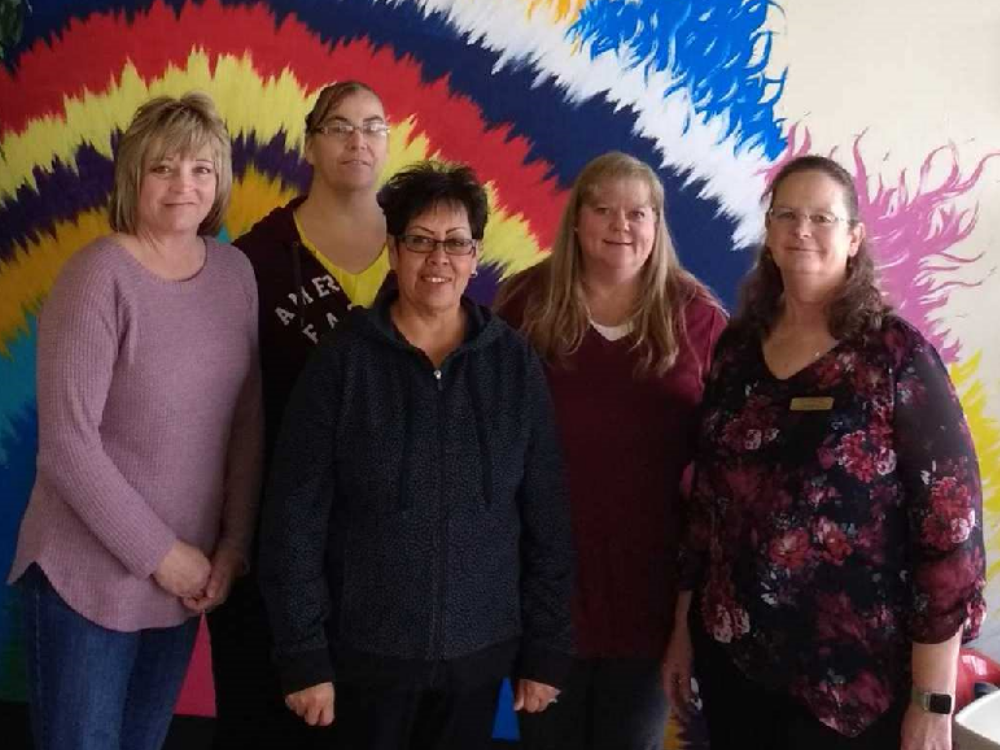 clinic staff in Powell, Wyoming
